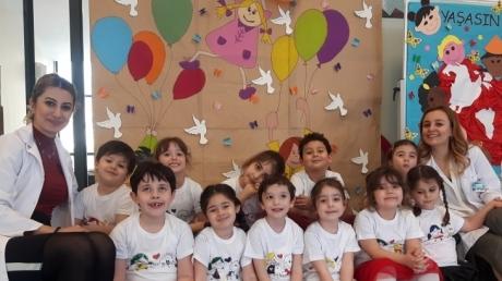 Bornova Okul Öncesi Birimi Öğrencilerimiz 23 Nisan Ulusal Egemenlik ve Çocuk Bayramını Coşkuyla Kutladı