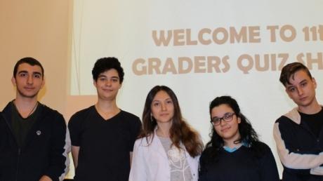 Anadolu Lisesi Öğrencileri İngilizce Genel Kültür Yarışmasında