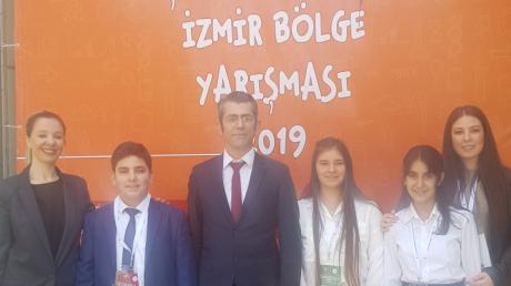 Bornova Okyanus Koleji 13. Tübitak Ortaokul Öğrencileri Araştırma Projeleri Yarışmasında