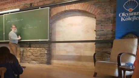 Bornova Okyanus Koleji Anadolu Lisesi Öğrencileri Nesin Matematik Köyü'nde