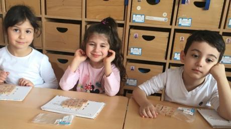 Çekmeköy Okul Öncesi Yıldızlar Grubu Düşünme Becerileri Dersinde