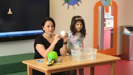 Çekmeköy Okyanus Koleji Gökkuşağı Grubu Aile Katılım Etkinliğinde