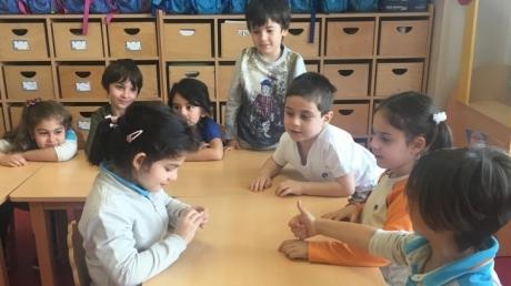 Çekmeköy Okyanus Koleji, Okul Öncesi Yıldızlar Grubu Aile Katılımı Etkinliğinde