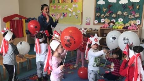 Çekmeköy Okyanus Koleji, Okul Öncesi Çiçekler Grubu Aile Katılım Etkinliğinde