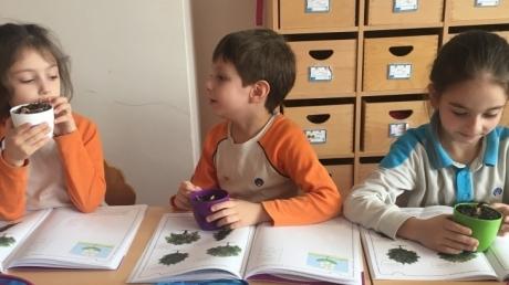 Çekmeköy Okyanus Koleji Okul Öncesi Yıldızlar Grubu Okuma- Yazma Hazırlık Dersinde