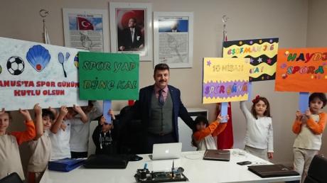Çekmeköy Okyanus Kolejinde Spor Günü Hazırlığı..