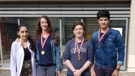 Fatih Okyanus Koleji Lise Almanca Kelime Yarışması