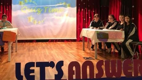 Fatih Okyanus Kolejinde Quiz Show Etkinliği
