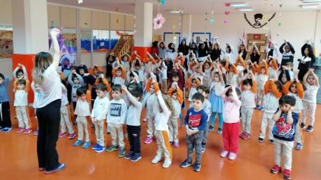 Güneşli Okyanus Koleji Okul Öncesi Öğrencileri Geleneksel Spor Gününde