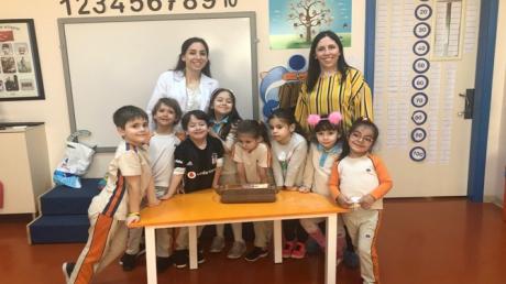 Güneşli Okyanus Koleji Okul Öncesi Gezegenler Grubu Aile Katılım Etkinliğinde