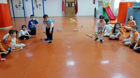 Güneşli Okyanus Koleji Okul Öncesi Yıldızlar Grubu Oyun Etkinliğinde