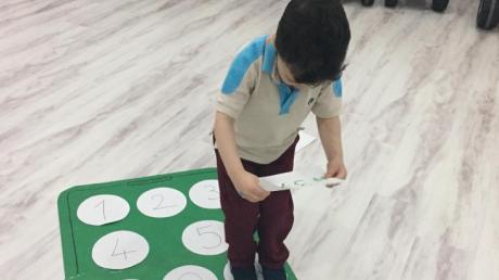 Halkalı Okul Öncesi Kuşlar Grubu Öğrencileri Oyun  Etkinliğinde.