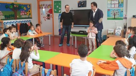 Halkalı Okul Öncesi Yıldızlar Grubu Öğrencileri Aile Katılımı Etkinliğinde.