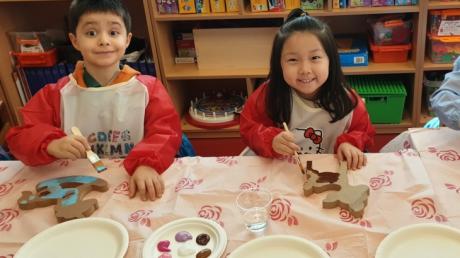 Halkalı Okul Öncesi Yıldızlar Grubu Aile Katılım Etkinliğinde