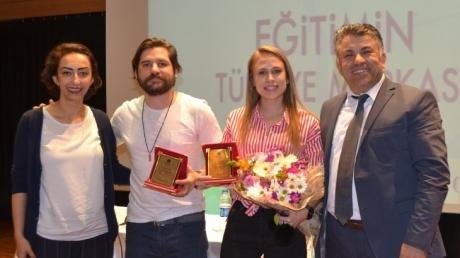 Tiyatro Sanatçıları Ceyhun Fersoy ve Begüm Öner Halkalı Okyanus Koleji'nde...