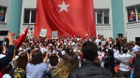 Halkalı Okyanus Kolejinde 23 Nisan Ulusal Egemenlik Ve Çocuk Bayramı