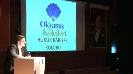 Avcılar Okyanus Hukuk Kariyer Kulübü Avukatlara Danışalım Etkinliği Düzenledi