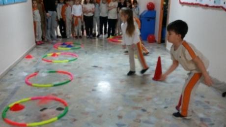 İlkokul Kademesi Öğrencileri Mart Ayı Öğle Arası Koridor Etkinliği