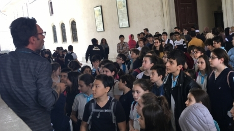 Ortaokulu Topkapı Sarayı ve Mukaddes Emanetler Gezisi