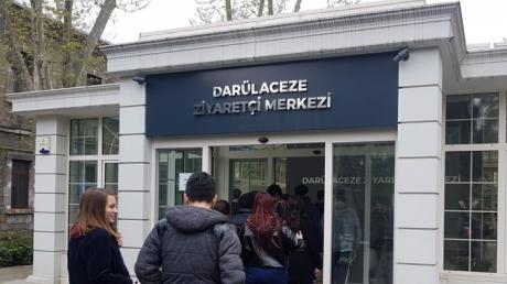 Lise Öğrencileri Darülacezeyi ziyaret etti.