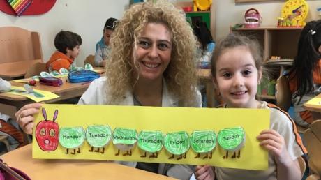 Mavişehir Okyanus Koleji Okul Öncesi Balıklar Grubu İngilizce Dersinde