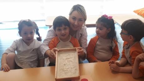 Mavişehir Okyanus Koleji Okul Öncesi İnciler Grubu Matematik Etkinliğinde