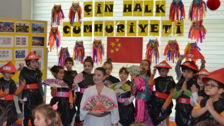 Mavişehir Okyanus Koleji Okul Öncesi Kuşlar Grubu Çin'e Hoş Geldiniz Etkinliğinde