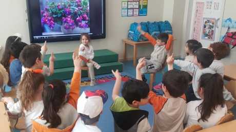 Mavişehir Okyanus Koleji Okul Öncesi Yıldızlar Grubu Sosyal Beceri Dersinde