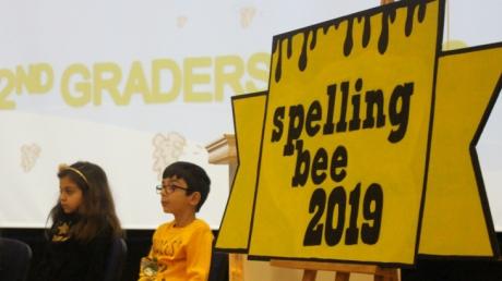 Mavişehir ve Bornova Okyanus Koleji 2. sınıf öğrencileri 'Spelling Bee'Yarışması Finalinde