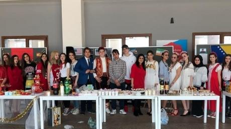 Mimarsinan Okyanus Koleji'nde Culture Fest Etkinliği