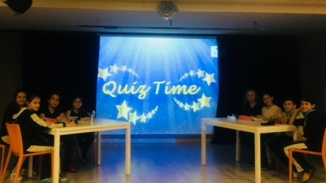 Okyanus Koleji Bahçelievler Ortaokul 6. Sınıflar Quiz Show Etkinliği