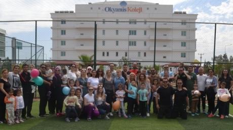 Okyanus Kolejinde ''Aileler Yarışıyor'' Etkinliği