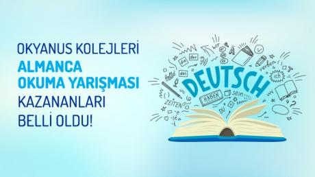 Okyanus Kolejleri Almanca Okuma Yarışması Kazananları Belli Oldu!