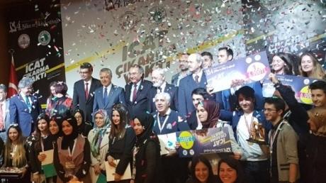Sancaktepe Kampüsü Anadolu Lisesi Ödül Aldı!