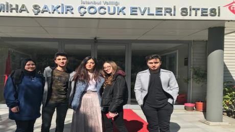 Sancaktepe Okyanus Koleji Lise Öğrencileri 23 Nisan Ulusal Egemenlik ve Çocuk Bayramı' nda Sosyal Sorumluluk Projelerini Hayata Geçirdiler.