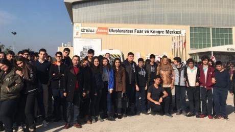 Adana Okyanus Anadolu Lisesi TÜYAP Fuarında