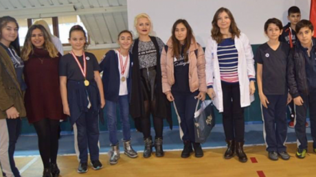 Beykent Okyanus Koleji Ortaokul Öğrencilerinden Aralık Ayı 'Star Of The Month'ları Seçildi.