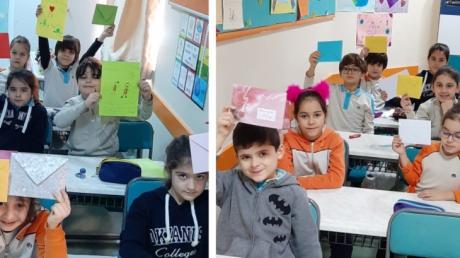 2. Sınıf Öğrencileri Arkadaşlarına Mektup Yazdılar