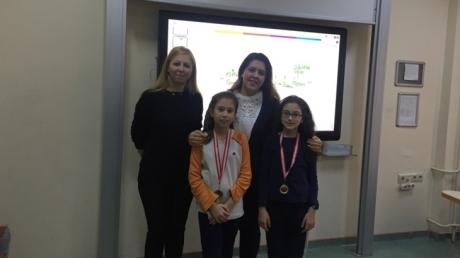 Beylikdüzü Okyanus Ortaokulu Aralık Ayı Örnek Öğrenci Madalyaları Verildi