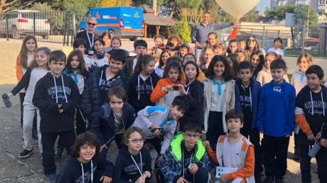 Bornova Okyanus İlkokulu 4. Sınıf Öğrencilerimiz İzmir Meteoroloji 2. Bölge Müdürlüğü'nde