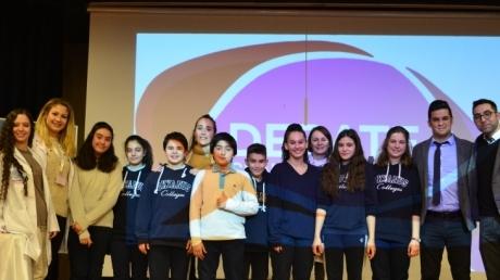 Bornova Okyanus Ortaokulu İngilizce Münazara Etkinliği