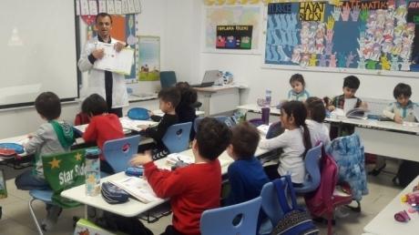 Çekmeköy Okul Öncesi Gökkuşağı Grubu İlkokul Okuma Yazmaya Hazırlık Dersinde