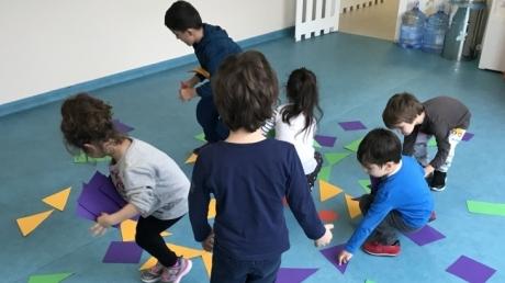 Çekmeköy Okyanus Koleji Okul Öncesi Balıklar Grubu Oyun Dersinde