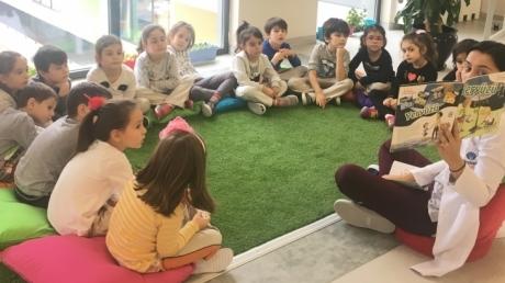 Çekmeköy Okyanus Koleji Okul Öncesi Yıldızlar Türkçe Etkinliğinde