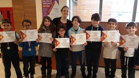 Fatih Okyanus Koleji İlkokul Kademesi Öğrencileri MentalUP Zihinsel Gelişim Programı Ödüllerini Aldılar…