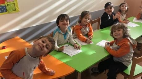 Fatih Okyanus Koleji Okul Öncesi Yıldızlar Grubu Oyun Dersinde