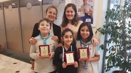 Fatih Okyanus Kolejinde Aralık ayı örnek öğrencileri seçildi.
