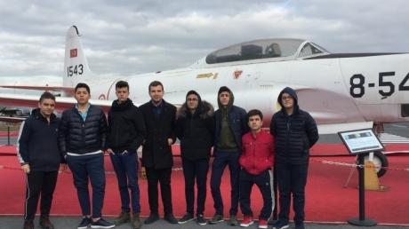 Havacılık Kariyer Kulübü Öğrencileri Havacılık Müzesinde!