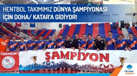 Hentbolda Türkiye Şampiyonuyuz!