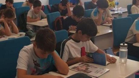 Lara Okyanus Koleji Okuma Zamanı Projesi